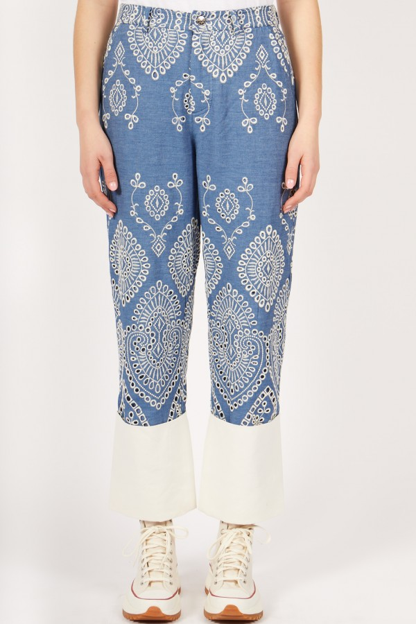 Embroidery Pant
