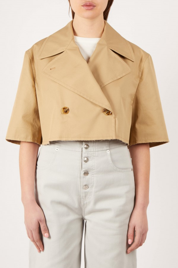 Small Cut Trench Jacket