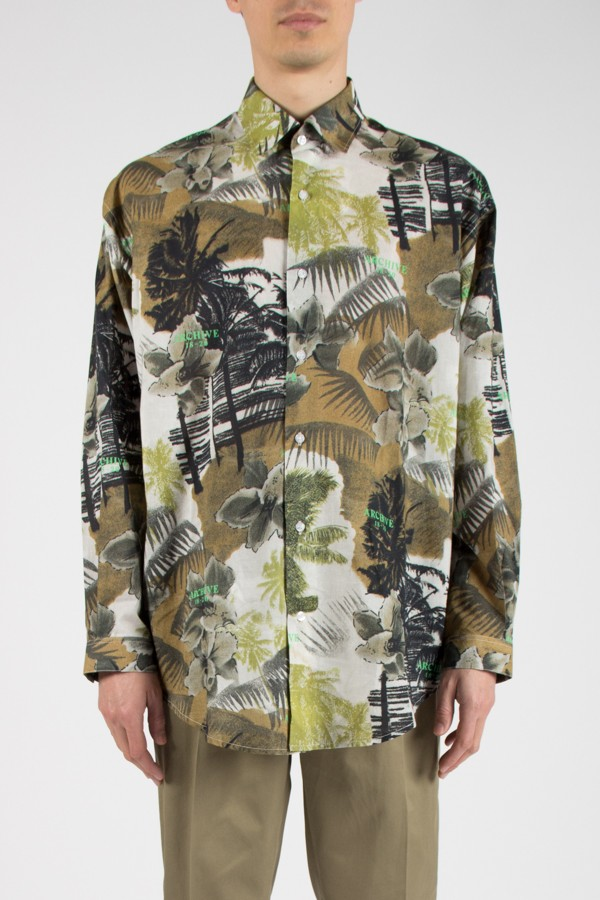 Chemise HAWAII Manches Longues
