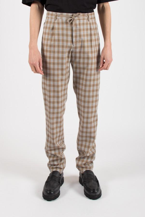 ARCHIVE 18-20 - Pantalon Raphael Beige Check
